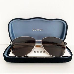 🌸 GUCCI Aviator Sunglasses Round Vintage Glasses